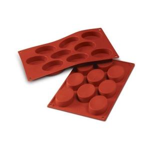 stampo silicone ovali 9 posti