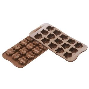 stampo cioccolatini gufi
