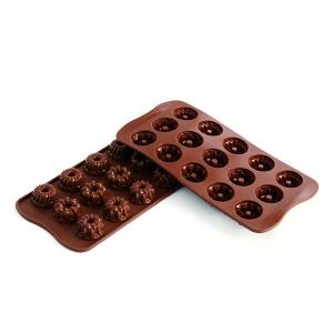 stampo silicone cioccolatini fantasia
