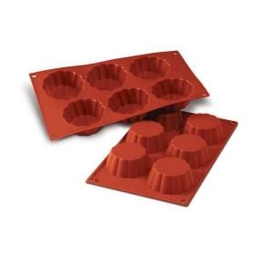 stampo silicone briochette cannellata