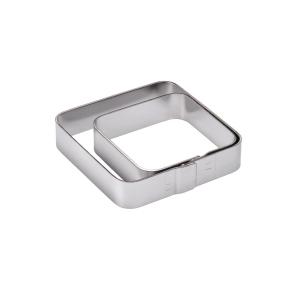 Quadrato Inox Arrotondato Altezza 2 cm