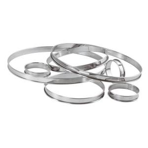 anello inox altezza 2 cm paderno