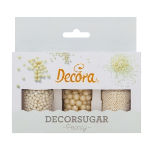 Set Decorazioni in Zucchero Perla